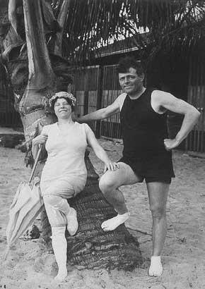 Джек лондон на гавайях фото 1915 г